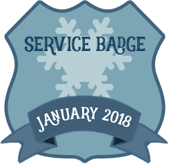 Service Badge: Jan 2018