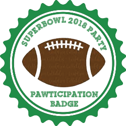 Party Badge: Superbowl Party
