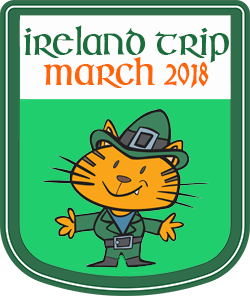 Travel Badge: Ireland Trip