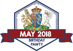 Party Badge: May 2018 Birthdays