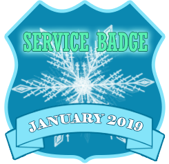 Service Badge: Jan 2019