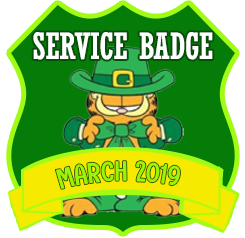 Service Badge: March 2019