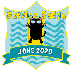 Service Badge: June 2020
