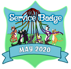 Service Badge: May 2020