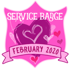 Service Badge: February 2020