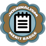 Group logo of Merit Badge: Journalism